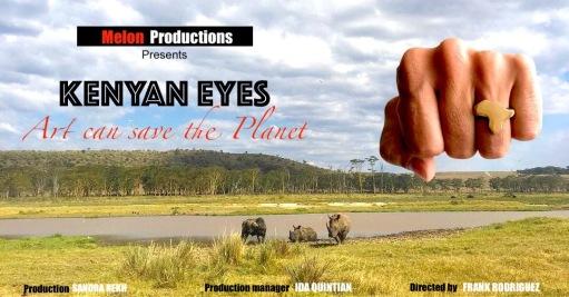 Kenyan Eyes art can save the planet